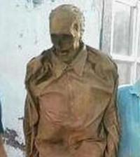 cadavere mummificato