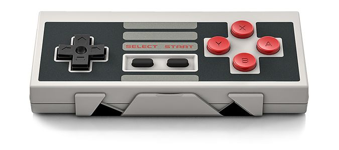 Bluetooth NES Controller For iPhone, Android And Windows Mobile Gadgets