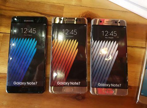 Aggiornamento Galaxy Note 7