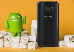 Aggiornamento Galaxy S7 Edge Nougat