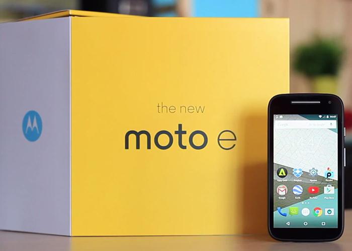 Aggiornamento Motorola Moto E 2015