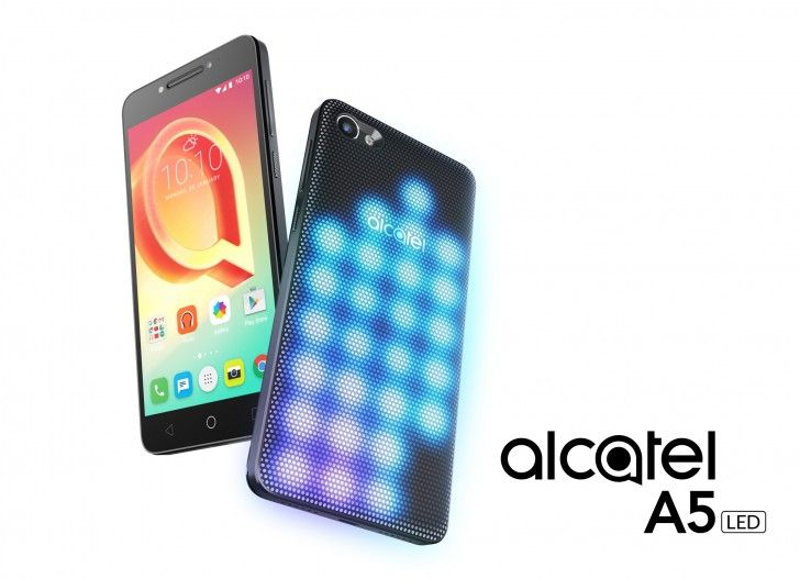 Alcatel A5 LED debutta in Italia