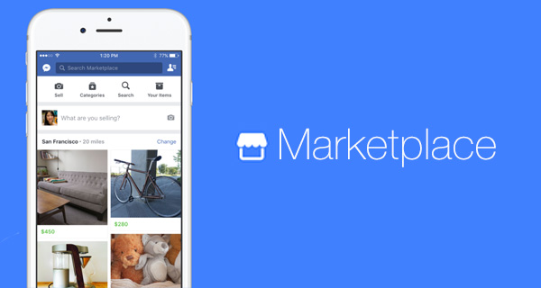 Facebook Marketplace, il mercatino virtuale disponibile in Italia