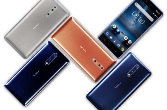 Aggiornamento Nokia 8