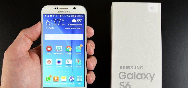 Aggiornamento Galaxy S6