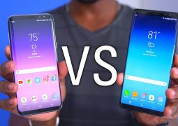 Galaxy Note8 vs Galaxy S8 Plus